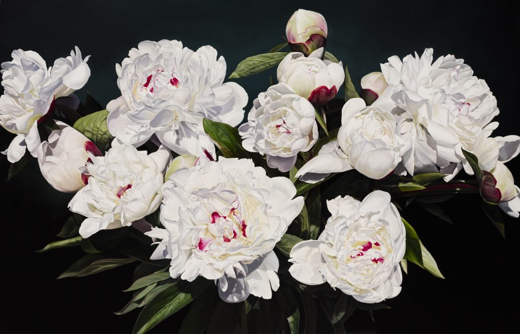 Katherine's Peonies 144 X 225 cm